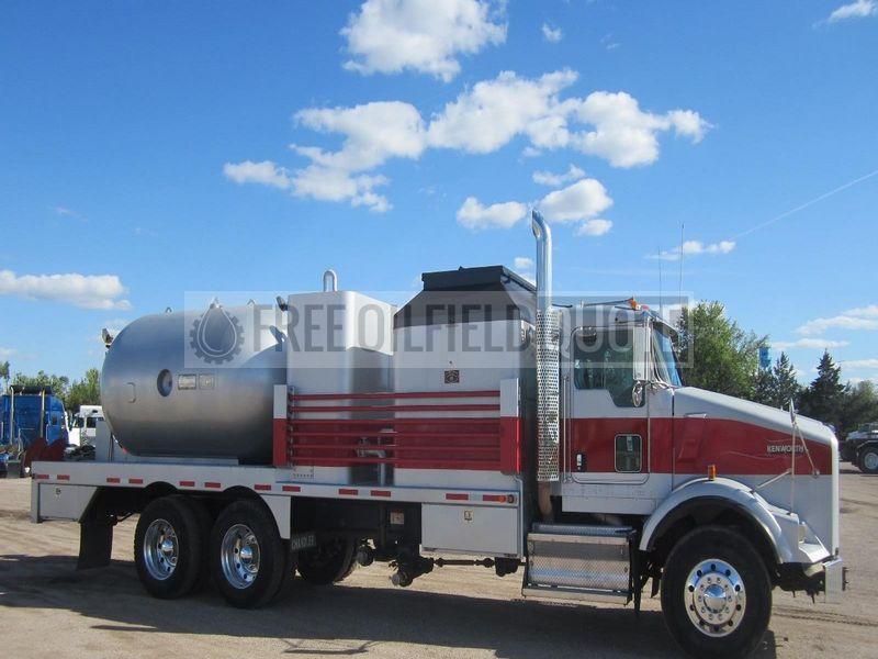 Hot Oil Truck | Chandler Mfg