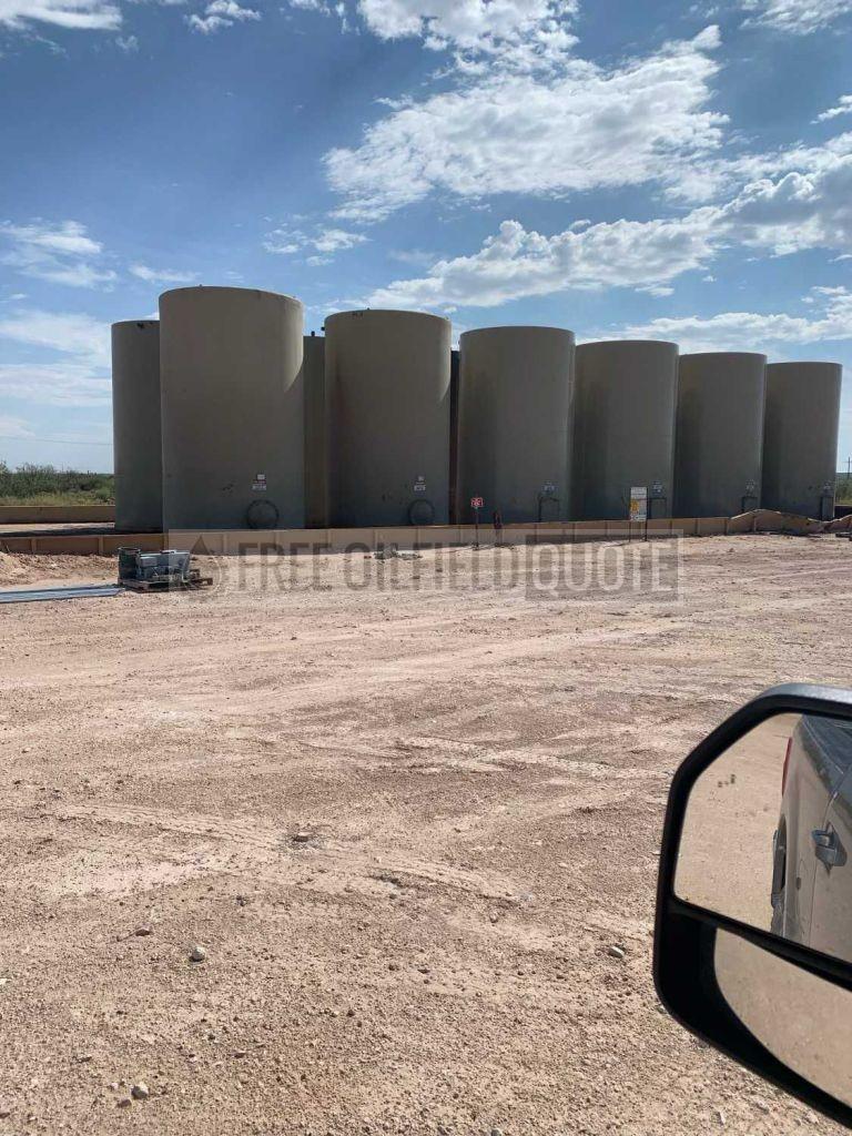 400 BBL Steel Tanks