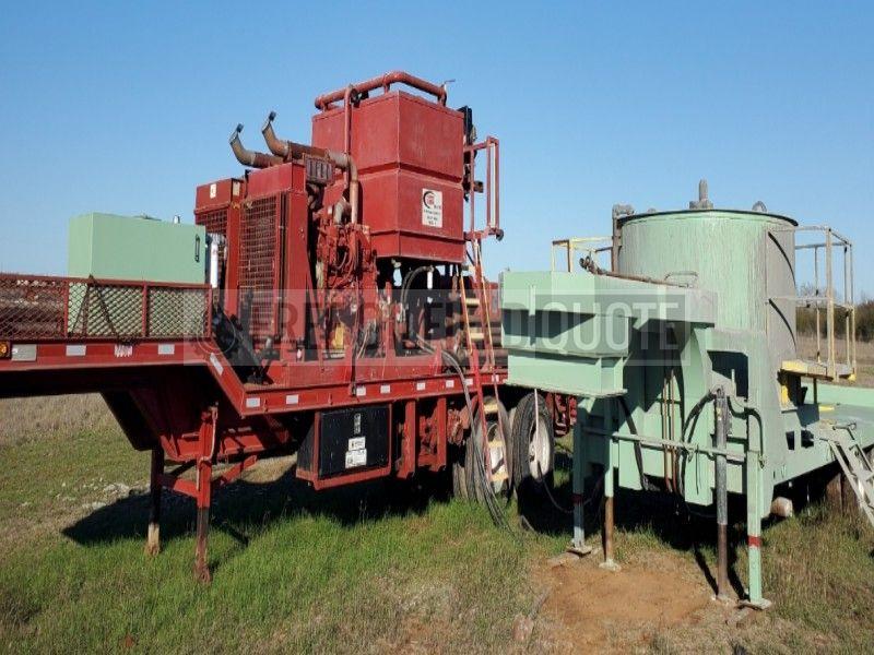 Cement Pumper with National-Oilwell JWS 185 Triplex Pump