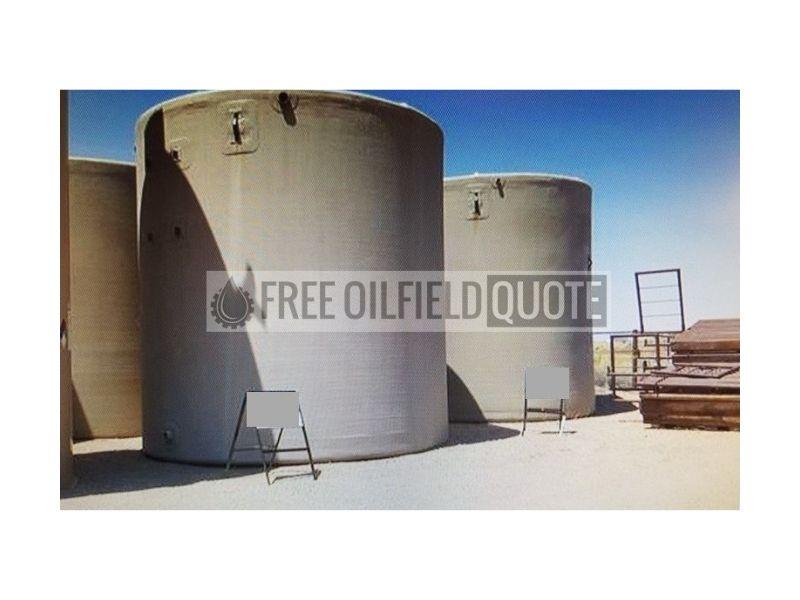 Fiberglass Tank   500 BBL