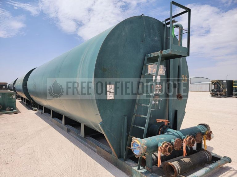 500 BBL Skidded Frac Tanks